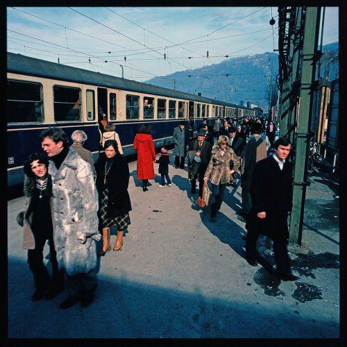 Bregenz, Bahnhof, 1978