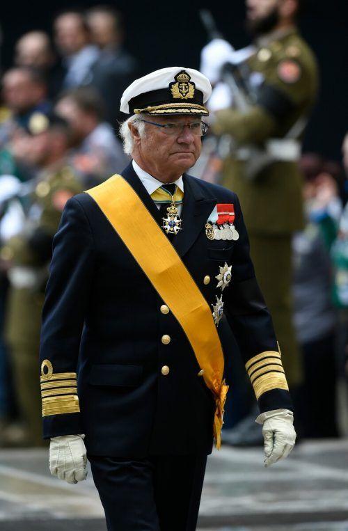 Carl XVI. Gustaf ist seit dem 15. September 1973 König von Schweden.AFP