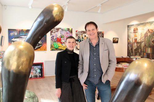 Carmen und Werner Böhler präsentieren ihre Frühjahrsausstellung. NAM