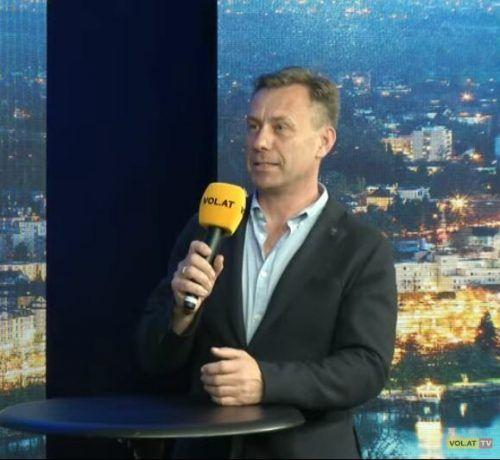 """Cateringspezialist Ernst Seidl zu Gast bei """"Vorarlberg live""""."""