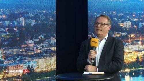 """Christoph Gerster: """"Derzeit sind Vorziehkäufe spürbar am Steigen."""" VN"""