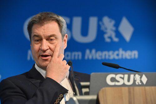 CSU-Chef Söder unterlag im Machtkampf um die sogenannte K-Frage. reuters