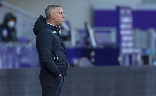 Damir Canadi hat großes Vertrauen in seine Mannschaft. Als Trainer sieht er den kommenden Aufgaben jedenfalls mit viel Ruhe entgegen.gepa/2