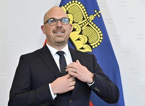 Daniel Risch zu Gast in Wien. APA