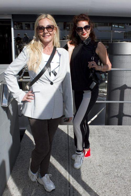 Daniela Yolsal (l.) kam mit Sabrina Nachbaur.
