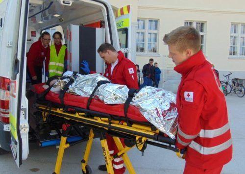 Dank enger Zusammenarbeit aller bewältigten die Mitarbeiter des Roten Kreuzes in Lustenau mehr als 7000 Einsätze.mima