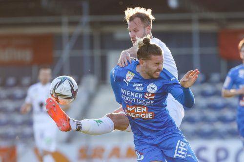 Das 0:1 beim FAC war bereits die 13. Niederlage von Austria Lustenau in der Saison.gepa
