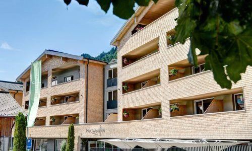 Das Hotel in Fontanella wurde vor ein paar Jahren umfangreich ausgebaut. Dafür wurden zehn Millionen Euro investiert. schäfer