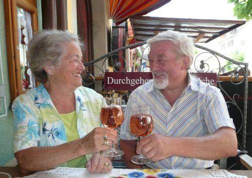 Das Leben ist für Rita und Sigi Hämmerle voller Herausforderungen und Freuden. kl