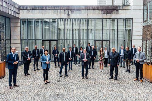 Das neue Gremium der LK-Vollversammlung nach der Wahl am Donnerstag im Landhaus in Bregenz. LK