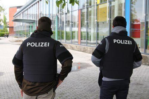 Dass die Polizei zu einem Einsatz an eine Schule gerufen wird, kommt in Vorarlberg sehr selten vor. VN/Rauch