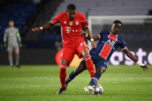 David Alaba bestritt sein letztes CL-Spiel im Dress des FC Bayern München.afp