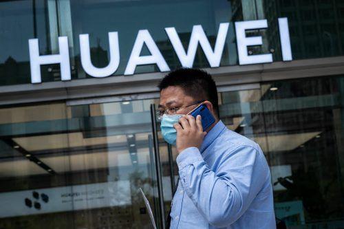 Der chinesische Huawei-Konzern setzt auf selbstfahrende Autos. afp