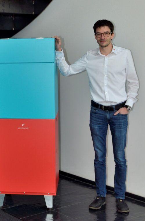 Der ehemalige Zumtobel-Manager und neue Geschäftsführer Jürgen Fink. dw