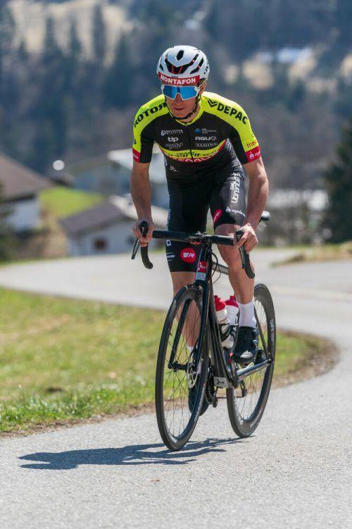 Der Gaschurner Daniel Ganahl startet für das Radteam Vorarlberg.DS
