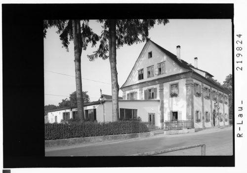 Der Gasthof Lamm im Bregenzer Vorkloster im Jahr 1958.
