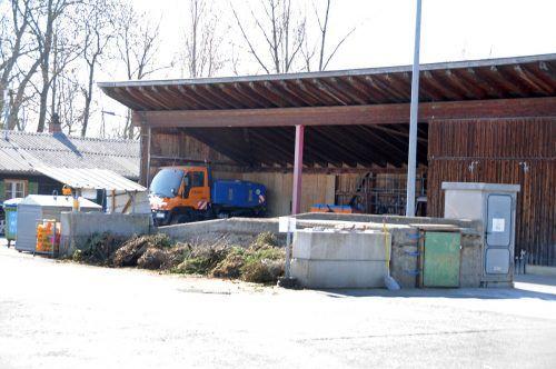 Der Harder Bauhof bzw. Recyclinghof nimmt wieder mehr Müll entgegen. AJK