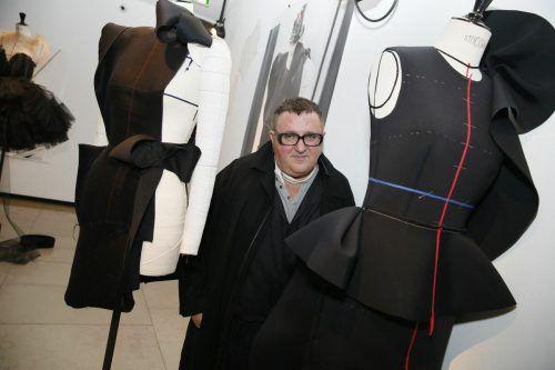 Der israelische Designer Alber Elbaz wurde 59 Jahre alt. AFP
