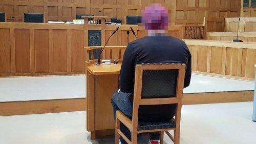 Der junge Mann sagte vor Gericht, dass ihm das Ganze sehr leidtue. ECKERT