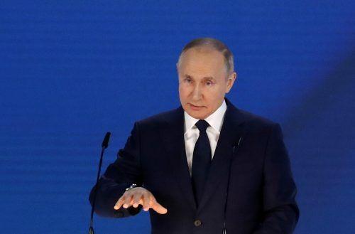 Der Kremlchef hielt seine jährliche Rede zur Lage der Nation. reuters
