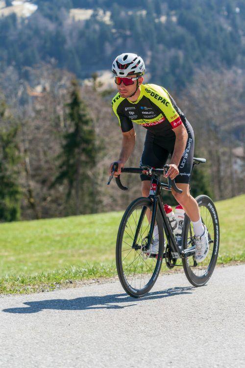 Der Lustenauer Linus Stari (Bild) ist so wie Daniel Ganahl erstmals beim Grand Prix Vorarlberg dabei.Verein