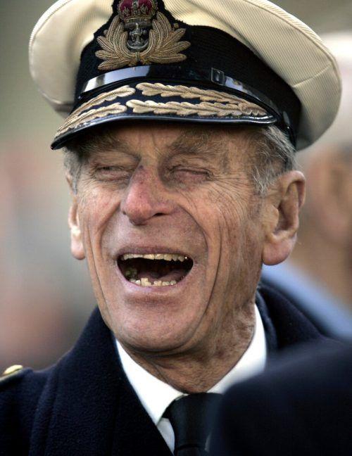 Der Prinzgemahl war für seinen - oft eigenwilligen - Humor bekannt. AP