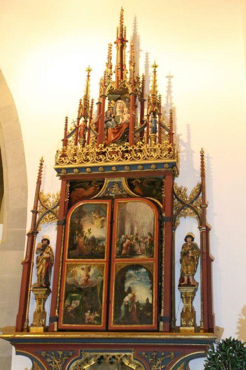 Der St. Annenaltar im Feldkircher Dom gilt als Hauptwerk von Wolf Huber.