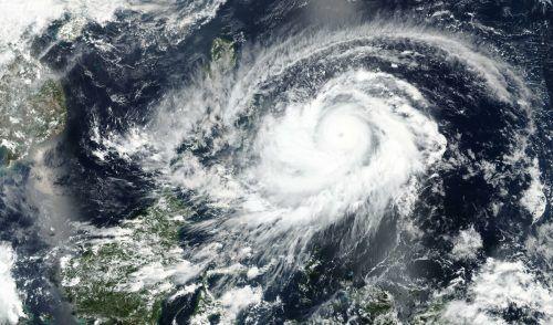"""Der Taifun """"Surigae"""" hat im Osten des Inselstaates für Überschwemmungen gesorgt. ap"""