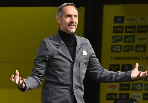 Der Vorarlberger Adi Hütter ist nunmehr in puncto Ablöse der teuerste Cheftrainer in Deutschland.afp