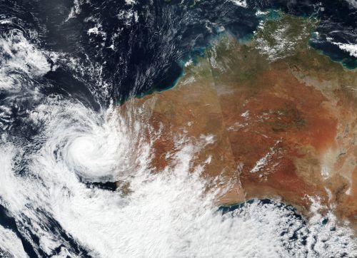 """Der Wirbelsturm """"Seroja"""" hat zwei australische Kleinstädte verwüstet. ap"""