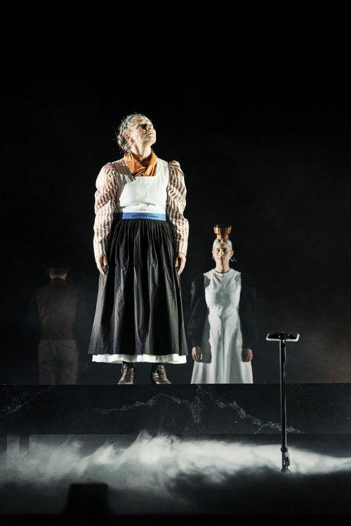 """Die Aufführungen von """"Sprich nur ein Wort"""", einem Stück zu Franz Michael Felder von Maximilian Lang, sind ausverkauft. LT/köhler"""