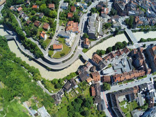 Die Aufweitung der Kapfschlucht soll verhindern, dass die Feldkircher Innenstadt durch ein Hochwasser zu Schaden kommt.