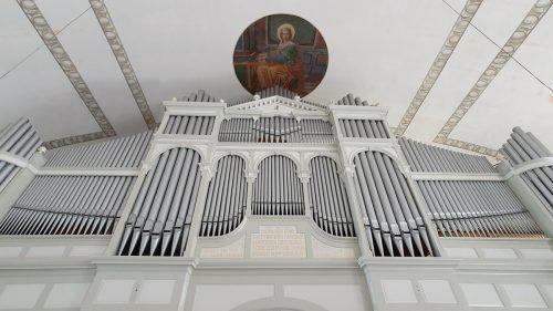 Die Behmann-Orgel aus dem Jahr 1927 erstrahlt nach aufwendiger Sanierung jetzt wieder in neuem Glanz.cth
