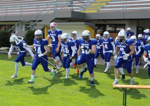 Die Blauen Teufel errangen gegen die Gäste aus Innsbruck einen fulminanten Sieg.Verein