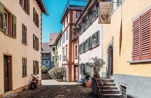 Die Bregenzer Oberstadt ist Drehort für den TV-Krimi.fst
