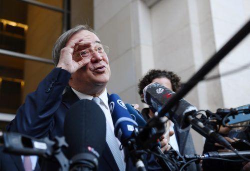 Die CDU-Spitzengremien stehen klar hinter ihrem Vorsitzenden Armin Laschet. reuters
