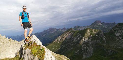 Die Einsamkeit des Laufens genießen, bei Trailruns für Wolfgang Fend keine Seltenheit.vn