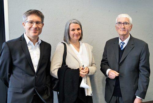 Die Eltern des Dirigenten Birgit und Eike Grabher, Gerhard Netzer.