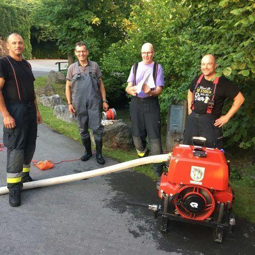 Die Feuerwehr Lochau war auch 2020 wieder für die Bürger im Einsatz. Auch im vergangenen Jahr kamen dabei zahlreiche Stunden zusammen.chf/3