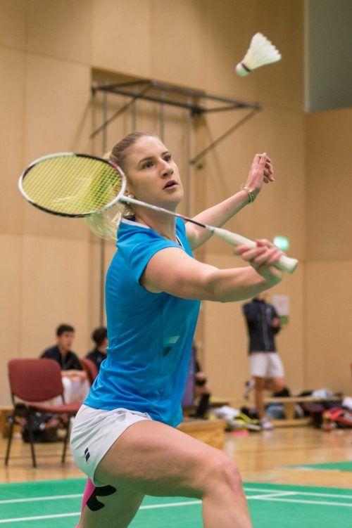 Die Hohenemserin Janine Lais sicherte sich mit Traun die Badminton-Krone.VN/DS