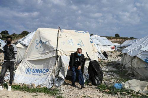 Die Initiative hofft auf Menschlichkeit und darauf, dass Flüchtlinge aus den katastrophalen Zuständen auf den griechischen Inseln gerettet werden. AFP