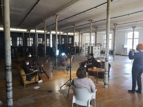 Die Interviews mit den Jugendlichen wurden in der Fabrik Klarenbrunn geführt und aufgenommen.Villa K.