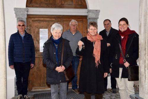 Die Klara-Schwestern freuen sich darauf, das Kloster Gauenstein wieder mit Leben füllen zu können.SCO