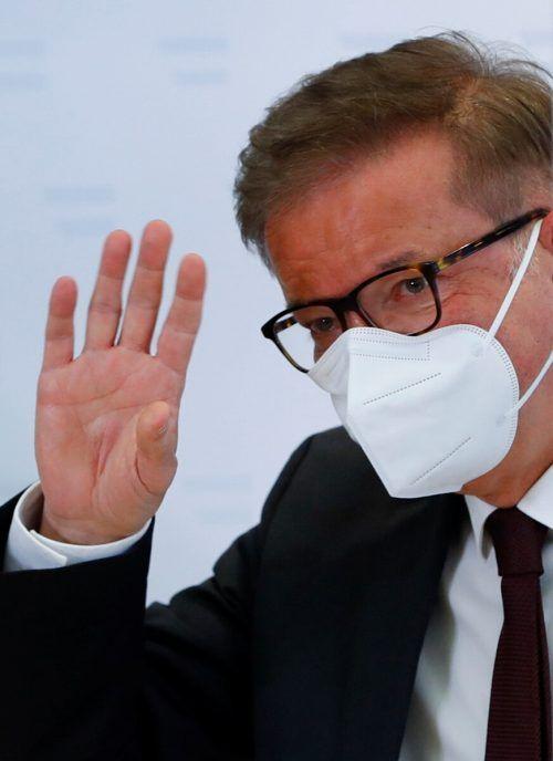 Die Pandemie mache keine Pause, erklärte Anschober bei seinem Rücktritt.Reuters