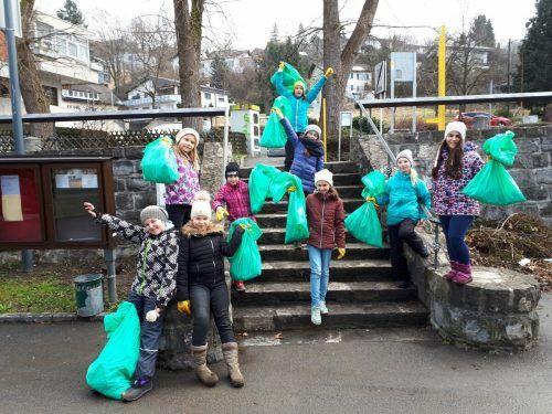 Die Schüler aus Tisis freuen sich schon auf die gemeinsame Aktion.