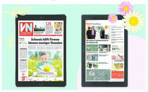 Die VN-Digital gibt es für Abonnenten im Kombiangebot mit einem neuen Tablet. Sie haben die Wahl zwischen dem aktuellen iPad und dem Terra Pad 1006.vn