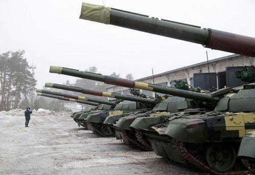 Die wieder aufgeflammten Spannungen im Ostukraine-Konflikt verursachen international große Sorgen.Reuters
