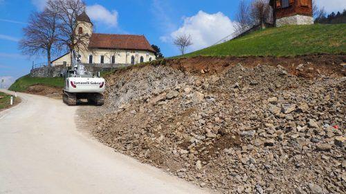 Die Zufahrt zum Kloster ist für Pkw über eine Umleitung möglich.EGLE
