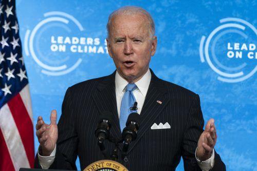 """""""Dieser Gipfel ist ein Anfang"""", sagte US-Präsident Biden. Ap"""
