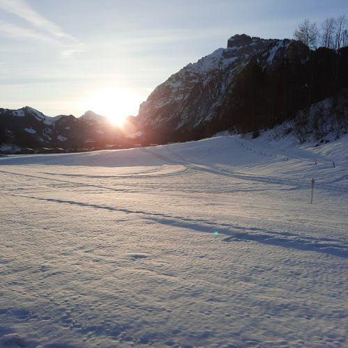 Dieses Foto vom Sonnenaufgang bei der Kanisfluh gelang VN-Leserin Sabrina Kirhofer.